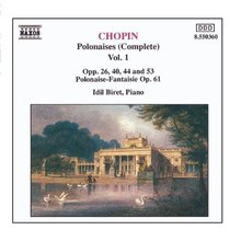 Chopin: Polonaises Vol. 1