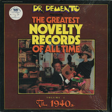 Dr. Demento Presents: The Greatest Novelty Records Of All Time Vol.1 (Vinyl)