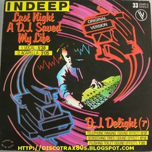Last Night A Dj Saved My Life (Vinyl)