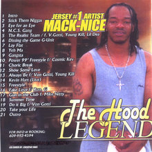 The Hood Legend