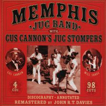 Memphis Jug Band With Cannon's Jug Stompers CD3