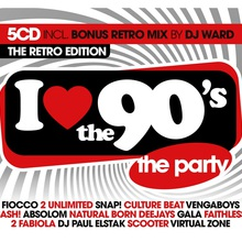 I Love The 90's: The Retro Edition CD3