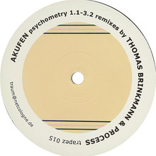 Psychometry 1.1-3.2 Remixes By Thomas Brinkmann & Process (CDR)