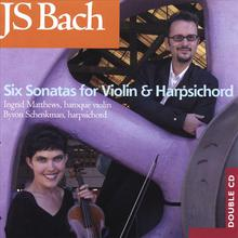 JS Bach - Six Sonatas For Violin And Harpsichord
