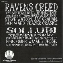 Ravens Creed & Sollubi (Split)